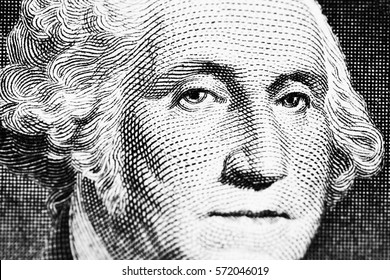 Washington's portrait on dollar macro
