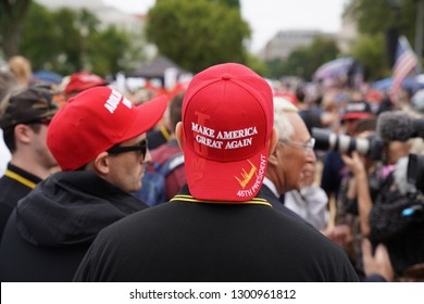 Washington/USA – September 8, 2018 Mother of all Rallies (MOAR)