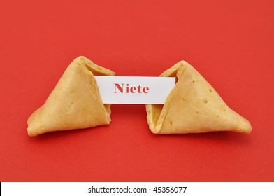 "A washout fortune cookie. ""Nothing"""