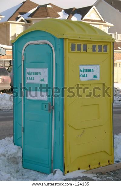 Washroom for construction field