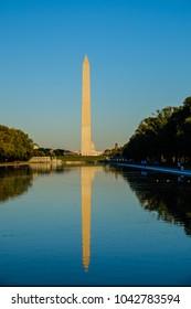 Washungton d.c. 3 October 2017 - Washington monument obelisc