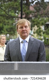 Wassenaar, The Netherlands - September 16, 2017:King Willem-Alexander was present at the celebration of the 100th anniversary of the rescue brigade