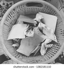 wastage of paper in a office