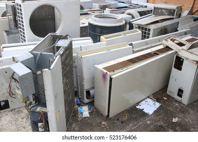 Waste air conditioning