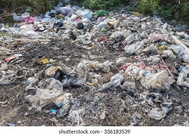 Waste Problem - Unhygienic litter