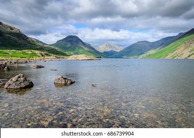 Waste Water lake, England.
