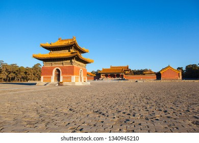 Wastern Qing Mausoleums - Tai Mausoleum(Yong Zheng) scenery. The Wastern Qing Mausoleums is one of the last dynasty Mausoleum area in China. It is located in Yixian, Hebei, China.