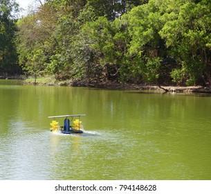 Wastewater treatment,sewage  lagoon