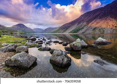 Wastwater in The Lake District, Cumbria, England