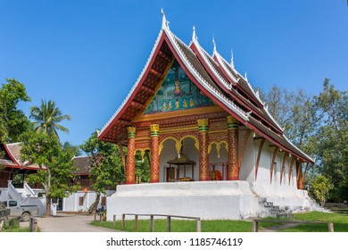 Wat Aham Temple in Luang Prabang, Laos