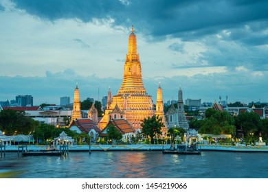 Wat Arun is among the best known of Thailand's landmarks