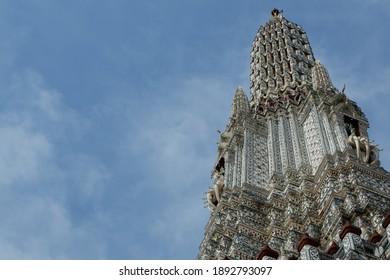 The Wat Arun in Bangkok