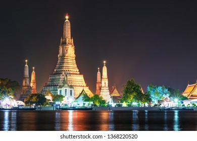 Wat Arun is a Buddhist temple in Bangkok Yai district of Bangkok, Thailand, Wat Arun is among the best known of Thailand's landmarks. Wat Arun Temple at sunset in bangkok Thailand.