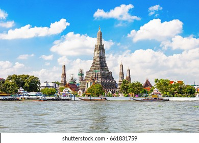 Wat Arun is a Buddhist temple in Bangkok, Thailand