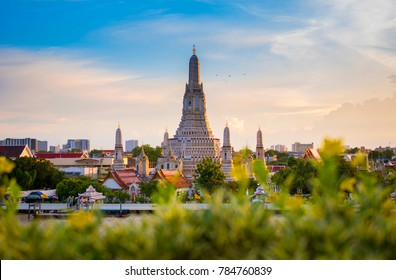 Wat Arun is one of famous landmark of Bangkok, Thailand.