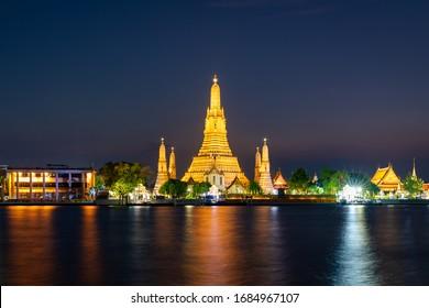 Wat Arun Ratchawararam Bangkok Thailand