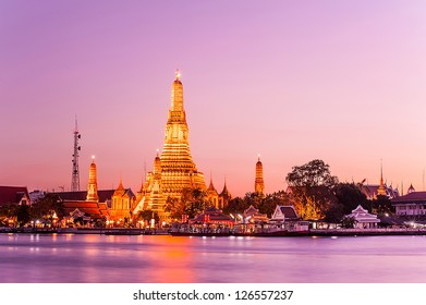 wat arun temple bangkok thailand
