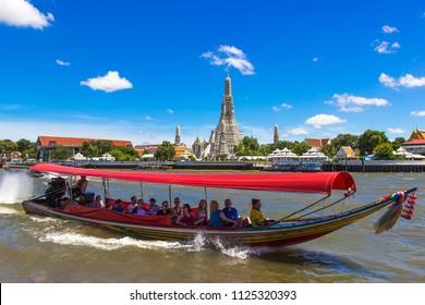 Wat Arun  Temple Location : Bangkok Thailand Date : June 30, 2018