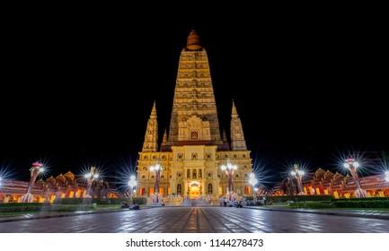wat (Buddhist temple) Mhathat washiramongkon in krabi thailand
