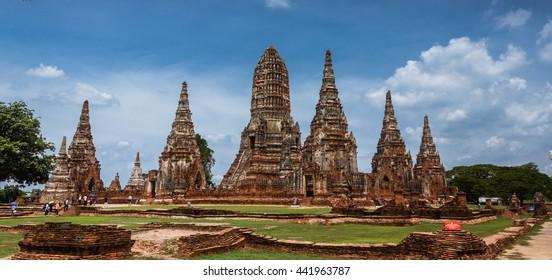 Wat Chai-Watthanaram ( Ayutthaya Historical Park ),Thailand