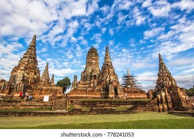 Wat Chaiwatthanaram is a Buddhist temple