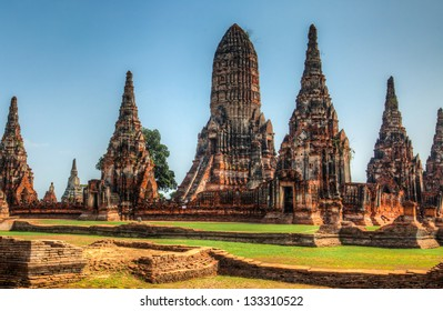 Wat Chaiwatthanaram  is a Buddhist temple in the city of Ayutthaya, Thailand, on the west bank of the Chao Phraya River. It is one of Ayutthaya's best known temples and a major tourist attraction.