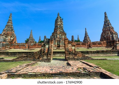 Wat Chaiwatthanaram is a Buddhist temple in the city of Ayutthaya, Thailand, on the west bank of the Chao Phraya River, outside Ayutthaya island.