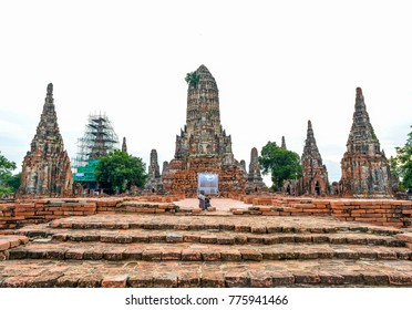 Wat Chaiwatthanaram,Phra nakorn sri ayutthaya,Thailand