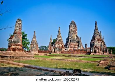 Wat chaiwatthanaram,World Heritage Site in thailand