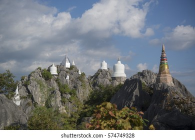 The Wat Chalermprakiet Prajomklao Rachanusorn Temple north of the city of Lampang in North Thailand.