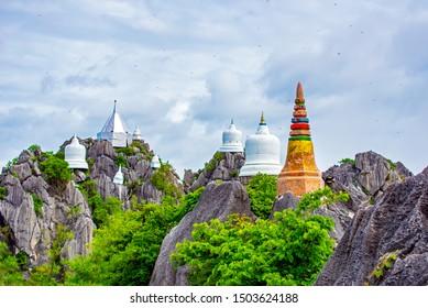 Wat Chaloem Phra Kiat Phrachomklao Rachanusorn,Wat Praputthabaht Sudthawat pu pha daeng a public temple on the hill off Lampang Unseen Thailand.