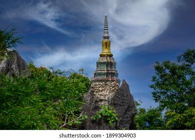 Wat Chaloem Phra Kiat Phrachomklao Rachanusorn Wat Praputthabaht Sudthawat pu pha daeng a public temple on the hill off Lampang Unseen Thailand..