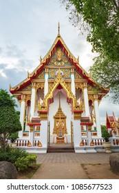 Wat Chalong temple, Phuket province, Thailand