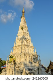 Wat Chedi Liam or Wat Ku Kham in the ancient Thai city of Wiang Kum Kam, Thailand