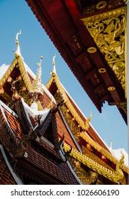 Wat Chiang Khang,Chiang Rai,Thailand.
