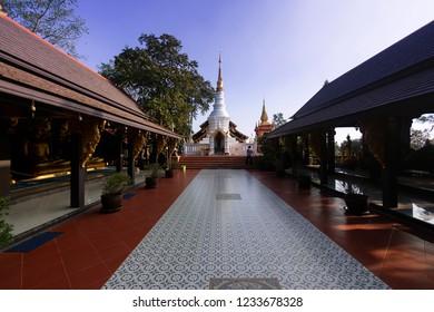 Wat Doi Phra Chan in Thailand temple
