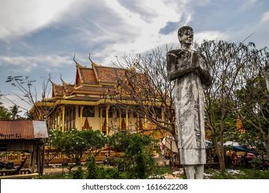 Wat Ek Phnom Temple near the city of Battambang in Cambodia