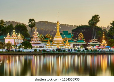 Wat Jongkham the most favourite place for tourist in Mae hong son