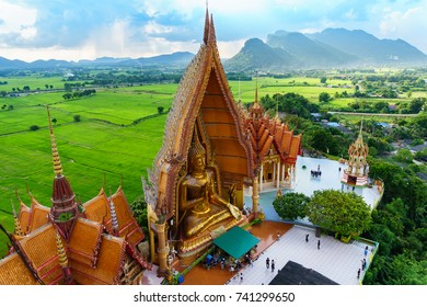 """WAT KAO TUM SUA"" Beautiful Temple on the hill , Karnjanaburi Thailand."