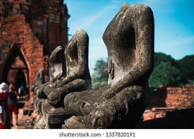 Wat Mahathai ,Phra Nakhon Si Ayutthaya Historical Park A historical park in Ayutthaya