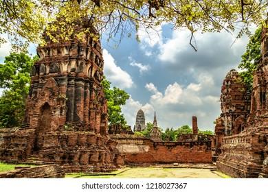 Wat Mahathat in Ayuthaya Historical Park, Thailand