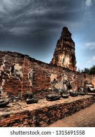 The Wat Mahathat is a Buddhist temple located in Ayutthaya, Thailand. This place also be one of ayutthaya historical park.
