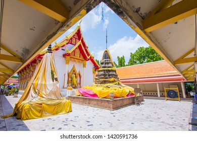 Wat Nang Phaya Pagoda Phitsanulok Province, Important places of Phitsanulok province,Thailand : May 2019