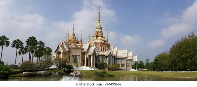 Wat Non Kum, a Famous Buddhist Monastery in Nakhon Ratchasima Province, Thailand