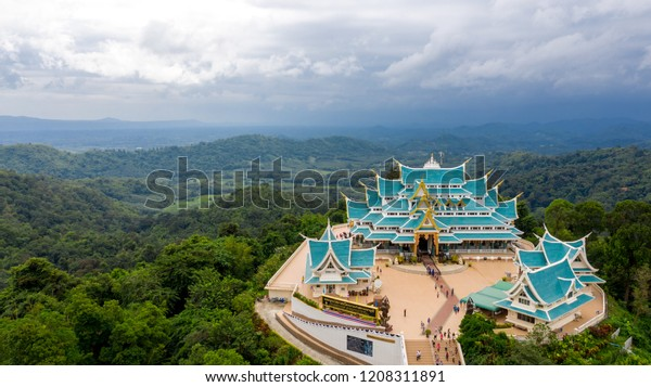 Wat Pa Phu Kon is a place of religious tourism. Udon Thani province, Thailand