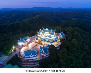 Wat Pa Phu Kon In Ubon Ratchathani,Thailand.Is a public temple. In the middle of the forest is beautiful. And is popular with tourists.