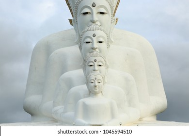 Wat Pha Sorn Kaew, also known as Wat Phra Thart Pha Kaew, Khao Kor, Phetchabun, Thailand, Buddhist monastery and temple of public