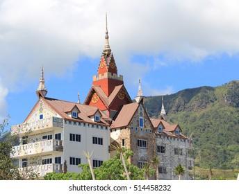 Wat Pha Sorn Kaew temple in the Khao Kho, Phetchabun, Thailand