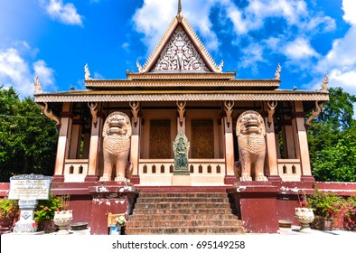 Wat Phnom is a Buddhist temple located in Phnom Penh, Cambodia. It is the tallest religious structure in the city.