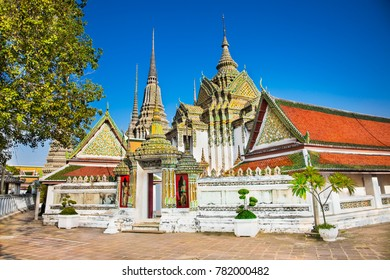 Wat Pho known also as the Temple of the Reclining Buddha is a royal temple of the first grade, one of ten such temples in Bangkok and 23 in Thailand.